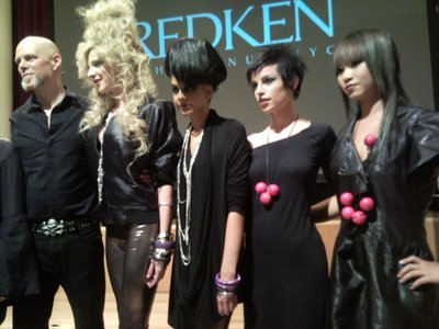 Redken 'Mastery in Motion' show 2009