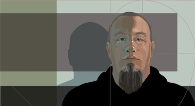 Self Portrait Illustration created with Adobe Illustrator
