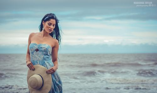 St Audries Bay #somerset  #coast  #outdoors  #beach  #windy  #fashion  #dress  #modelling  #picoftheday  #gorgeous  #women