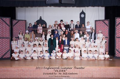 "EHS Summer Theater ""Oliver"" - 2013 Englewood Summer Theater cast photo"