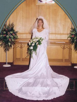 Bridal Portrait Full Length Bridal Portrait, Louviers Chapel, Louviers, Colorado