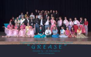 "EHS Wnter Musical ""GREASE"" Cast Photo"