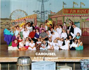 Carosel - Funny Cast Picture Carosel Stage Production -