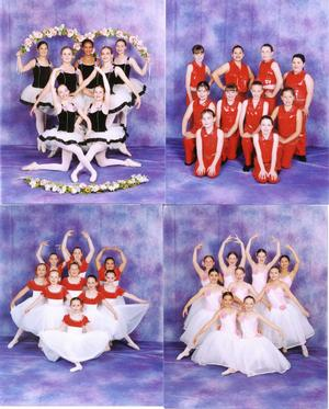 Dance Groups Composite of Dance School Group photography