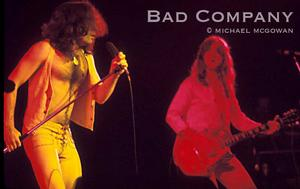 Bad Company Believe it or not, they were upstaged by Maggie Bell, the opening act.