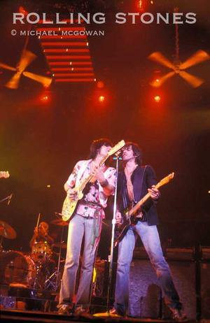 Ron Wood & Keith Richards Stones guitarists