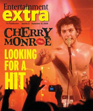 Cherry cover My photo used on entertainment tab cover.