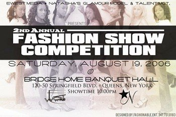 2nd Annual Fashion Show Competition