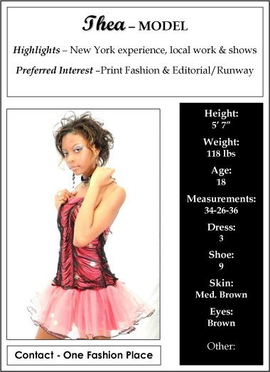 Looking for GREAT MODELS for SHOWS!