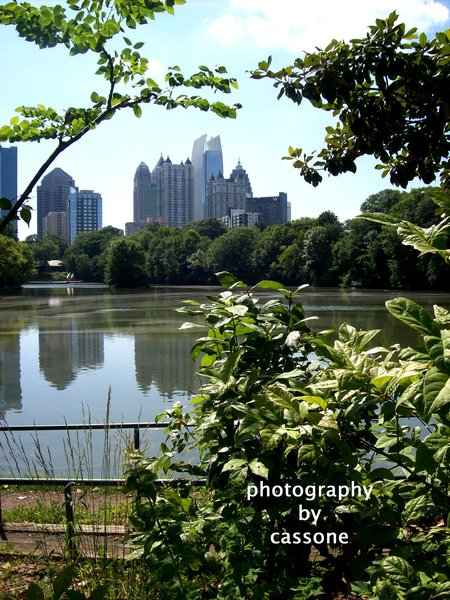 Piedmont Park Perspective - Version 1 Location Producer: John W. Cheeves III; Atlanta, GA, USA; 2010 - from the book WHILE IN ATLANTA - PHOTOGRAPHY BY CASSONE, VOLUME II by Antonio Cassone - available on Amazon in Paperback and Kindle Editions formats.
