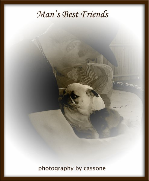 """Man's Best Friend from the Upcoming Book """"The Things Around Us: Random Everyday Inspirations - Photography by Cassone, Volume III"""" by Antonio Cassone."""