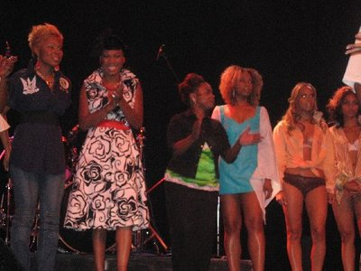 Fame & Fortune AMC Collision Coarse Fashion Show ending