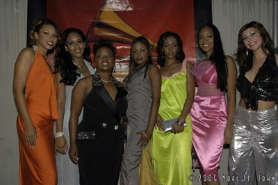 AMC 2005 Red Carpet Models Models: Kristina, Wynnie, Vanessa, Jenna, CiCi,Brittany Hair: N'ySea Hair Salon       Salon of Castleberry Photographer: Noel St John
