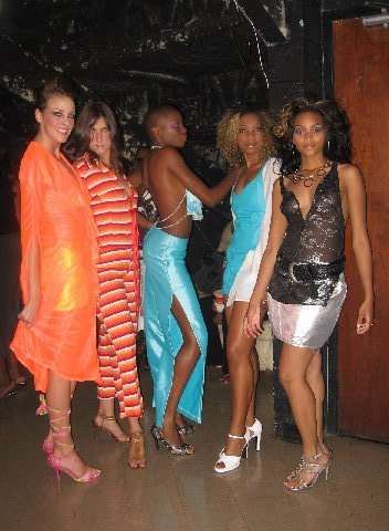 Passionately Platinum AMC Collision Coarse Fashion Show