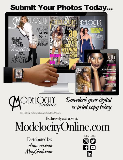 ModelocityOnline magazine The magazine is for those pursuing a career in #modeling , #fashion , #makeup  and #entertainment .