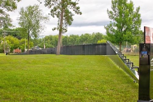 Vietnam Wall - Replica The Wall That Heals Event in Crivitz, Wisconsin - 2018