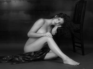 Fine art nude stern look Our first shoot, this shot also won new nude photo forum winner of the week