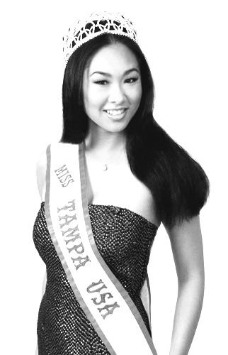 Miss Tampa USA 2004 Competed in the Miss Florida USA Pageant and placed among the Top 15 & won the Miss Amity award.  www.MissFloridaUSA.com