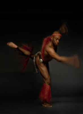 Traditional Tahitian Male Dancer Traditional male Tahitian dancer  Simon Lewis www.simonlewisstudio.com
