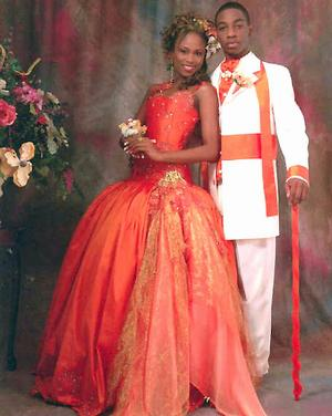 Designs by Theodore Elyett Saint Augustine's College (S.A.C.)2005 Prom~~Shenique Whymns-Debutante of The Year 2005~~Barry Griffin-Gentleman of The Year 2005
