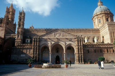 Palermo Cathedral, Sicily Construction began around 1184 CE