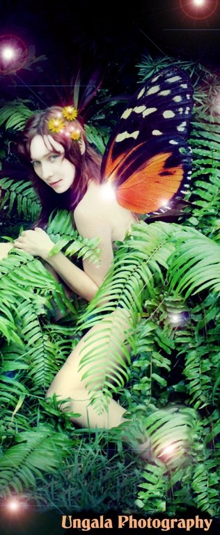 Fairy  Turning a normal photo into something magical is fun for not only the photography but the customer as well.
