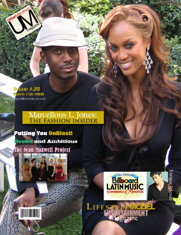 Issue #38 Cover with Tyra Banks