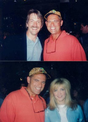 Jeff Foxworthy & Crystal Bernard (T.V. Show Wings) & Valentino The Late Icon Dick Clark's Birthday Party Universal Studios Burbank, Ca.