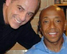 Russell Simmons & Valentino My Friend For Many Years. Love Ya Russell...