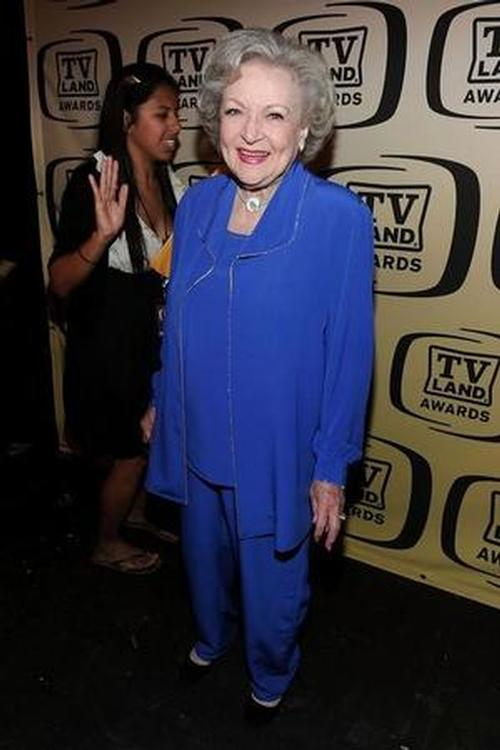 Betty White~Musecube Award Most Liked Images (All Time) Location: The Barker Hangar in Los Angeles California Valentino Studios®
