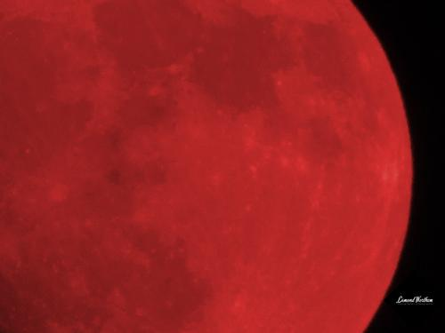 Colorizing The Moon Red The Republican Moon