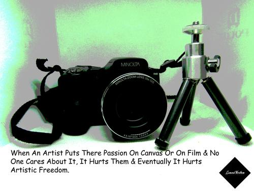 Artistic Message (1) If your a photographer or model here's a special message about our craft.