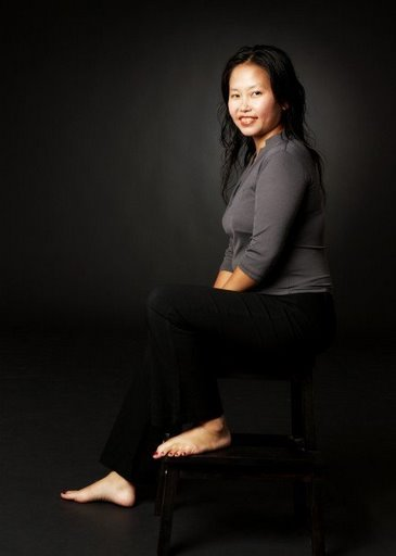 Smart Casual Except for this one which was taken in a studio in Singapore, the rest of the pictures were taken in SF Bay Area.  It was a smart casual attire with minimal makeup.