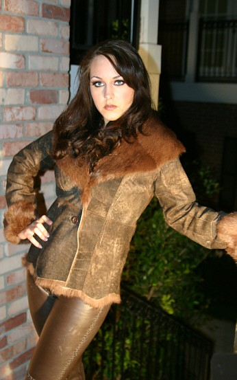 Strike a Pose Clothes by West Coast Leather, Makeup by M.A.C. Cosmetics