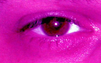 Magenta Eye One of my first 'goodies' from a few years ago. I am so glad I have come farther along since then. We were going for a bit of artistry.
