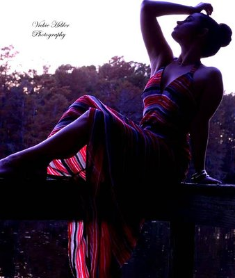 Rebecca Bell Beautiful silhouette with a great backdrop. I find this to be dramatic and sensual.