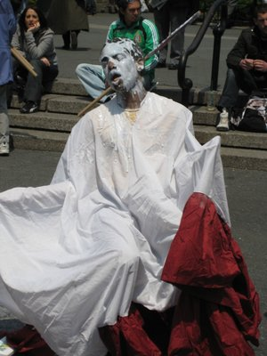 Captive Shock Live Street Performance at Union Square, NYC May 1, 2008