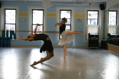 Evocative Motion Caught in the process of rehearsal; a true million word picture which says more to evoke the theme of this choreographic selection than one would have thought possible.