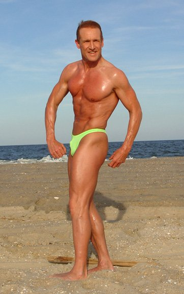 Male Fitness Over 50 Male Fitness Model in Speedo Over 40 now Over 50