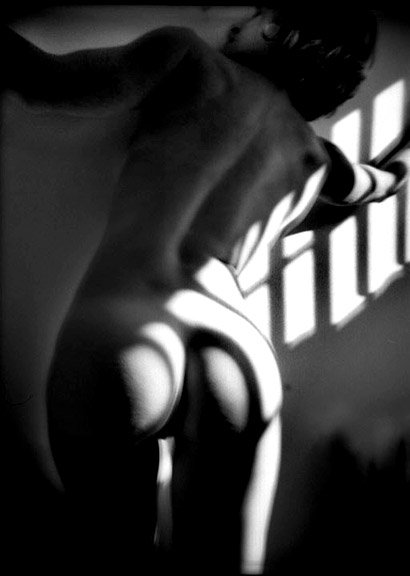 art nude series This photo belongs to a series of artistic nudes with shadows shot by Manuello Paganelli in 2015