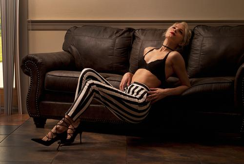 Lean back #pose  #photography  #model  #stripes