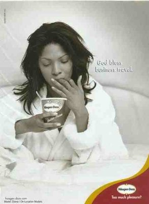 Häagen-Dazs® On-Location Models Specializes in Getting Bookings For National Print Advertisements.