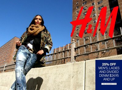 H & M On-Location Models specializes in getting its' models bookings for national print advertisements.