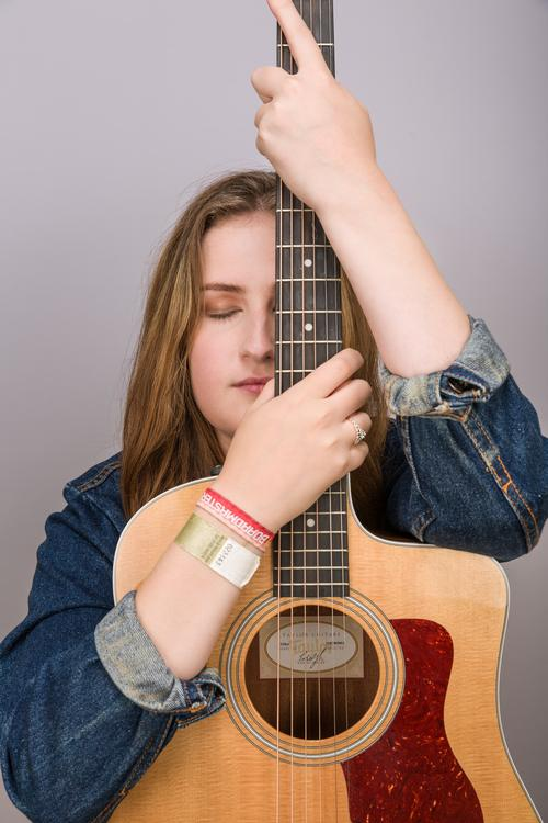 Artist Holding Guitar #singer  #art ist  #songwriter  #guitar  #model  #photoshoot  #art