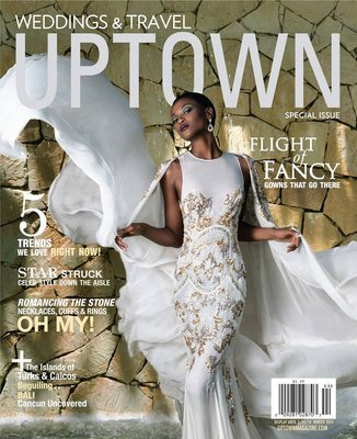 Uptown cover Cover for Uptown Magazine's special wedding & travel issue 2014