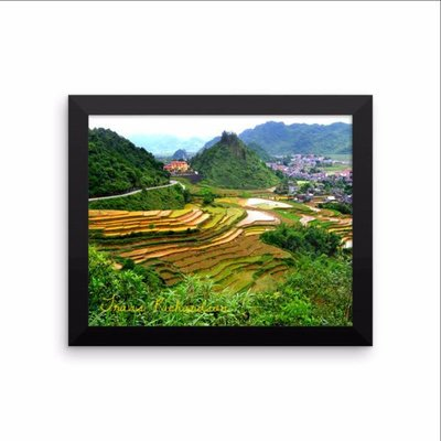 Ha Giang Highway, Vietnam As far north as you can go in Vietnam, Ha Giang province remains as it has for centuries. All alone, I rented a motorbike and drove for 8 hours north through tiny towns and endless jagged rice terraced hilltops.